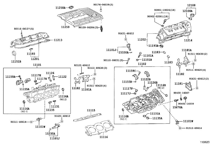 112130a010 - Engine Valve Cover Gasket
