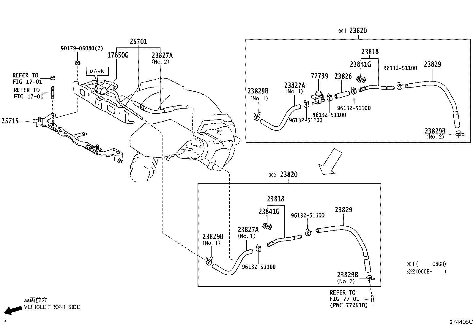 Lexus Rx 400h Vapor Canister Purge Solenoid  Valve