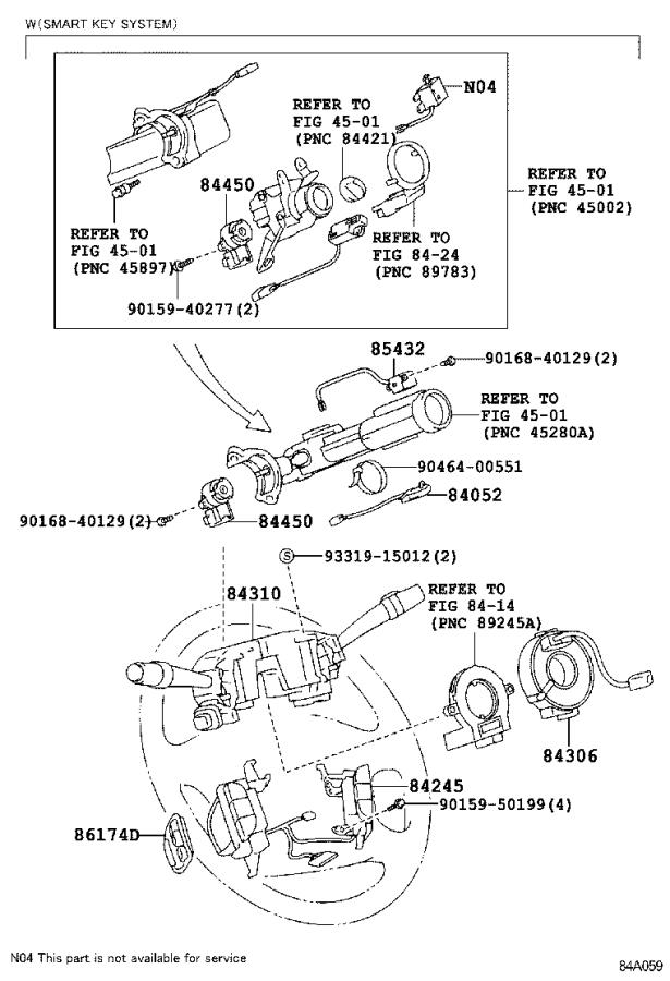 2002 Lexus Ls 430 Engine Oil Level Sensor Seal  Gasket  Engine Oil Level Sensor