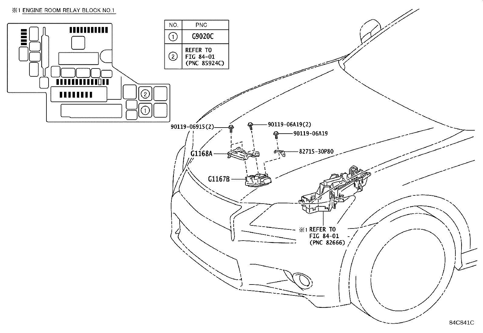 G116830030 - Bracket, oil pump motor controller ...